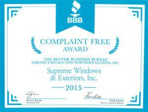 bbb-complaint-free-award