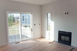 Modern Home Interior With Sliding Slass Doors